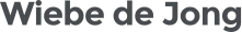 Wiebe de Jong Logo